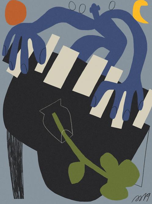 print blues • paola saliby