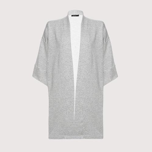 kimono moletom mescla