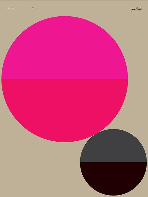 poster plano circular IV • gustavo francesconi