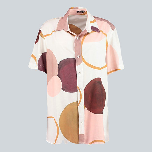 camisa unissex bolas off white