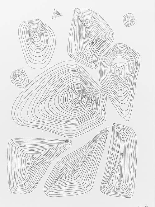 gravura linhas nº 12 • glauber sampaio | exposição orto