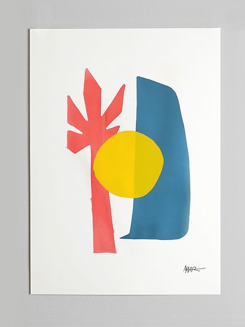 serigrafia coqueiro • daniel maar