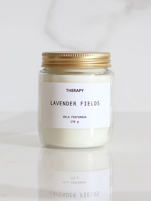 lavender fields | vela perfumada relaxante