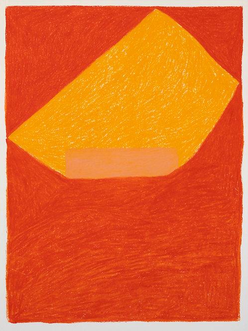 pintura dia 41 • dolores orange