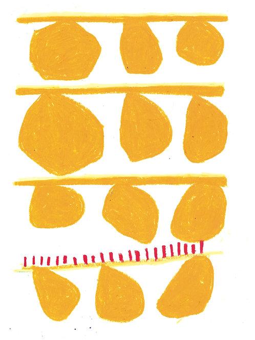 pintura bolas amarelo • dolores orange