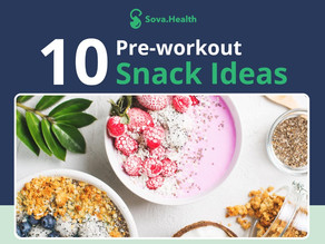 10 Pre-workout snack ideas (with macros)