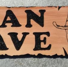 John Wayne Man Cave Sign