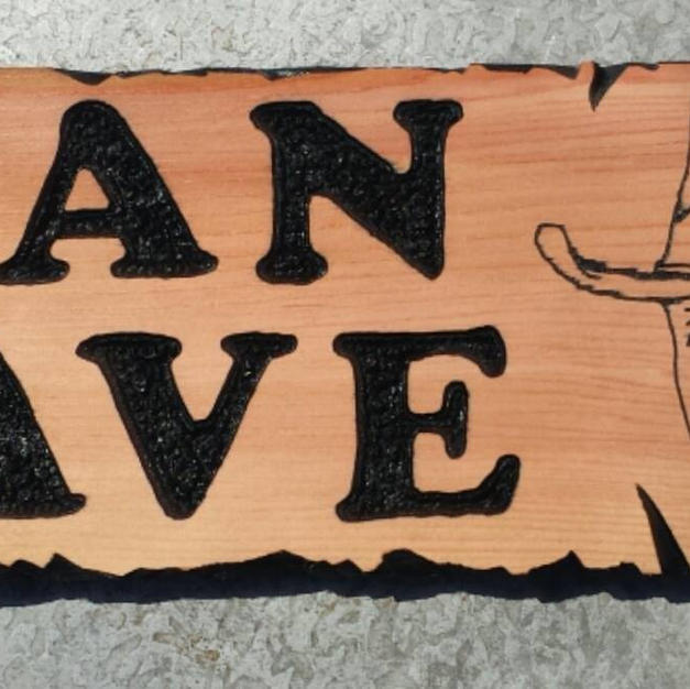 John Wayne Man Cave Sign