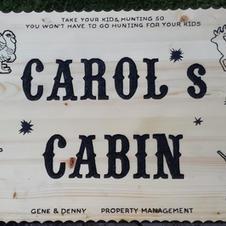 Carol's Cabin