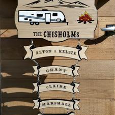 Custom Made Camper Sign