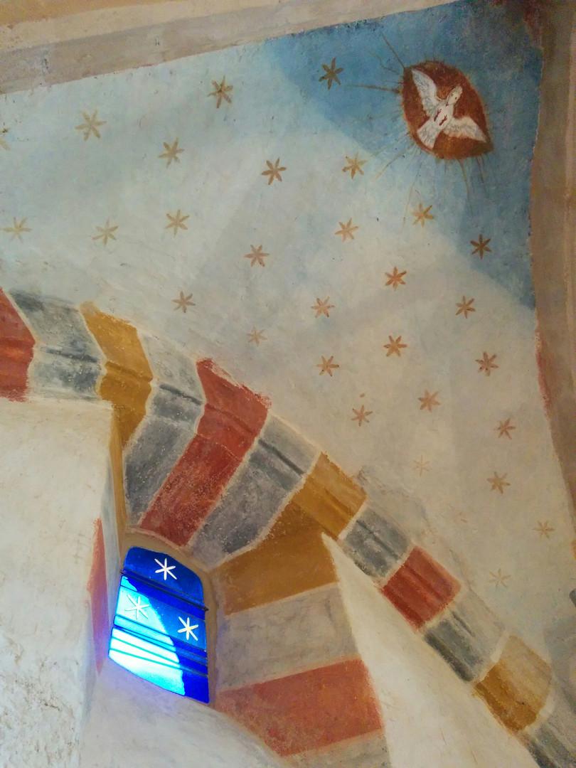 La Création du Monde / L'Air - Chapelle St Julien - St Julien-Maumont (19)