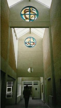 Spirales en mouvement - 1986 - Oculus - Collège René Cassin - Lillers (62)