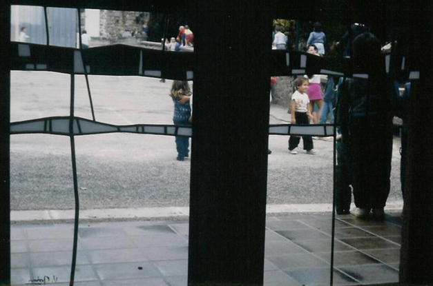 Damiers - 1987 - Ecole maternelle - ville de Compreignac (87)