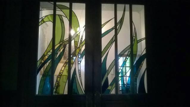 Décor de portes vitrées