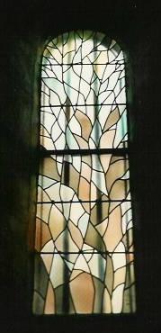 Eglise de Milhaguet (87) - Vitrail du choeur