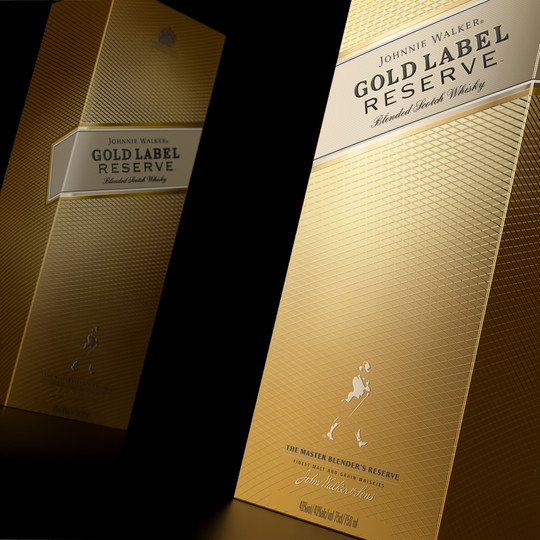 Johnnie Walker Gold label