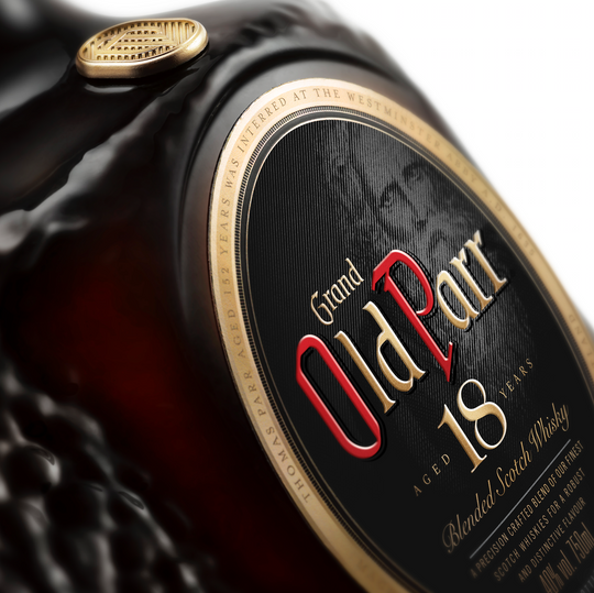 Old Parr: Brand renovation, LatAm, 2019: