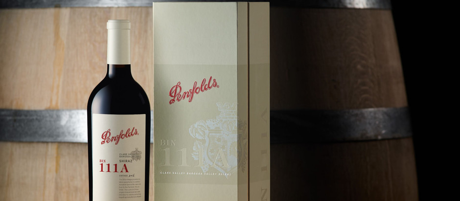 100-Point Special BIN 111ACaps off 175TH Anniversary year for PENFOLDS