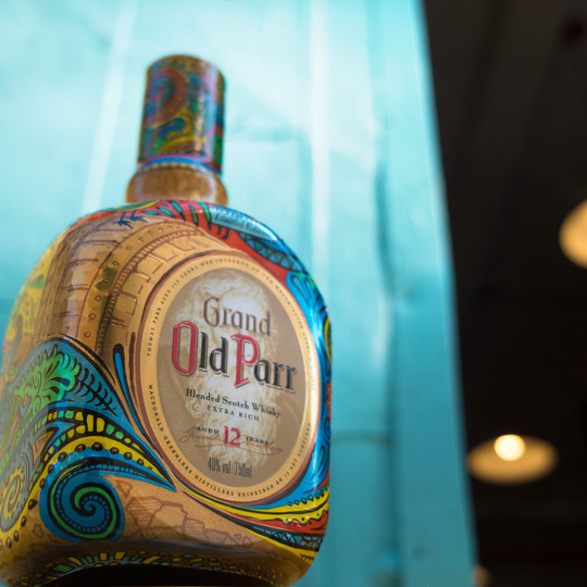 Old Parr limited edition, 2018
