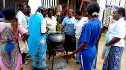 Rencontre Africaine du Social  au Bénin - Activités avec les femmes