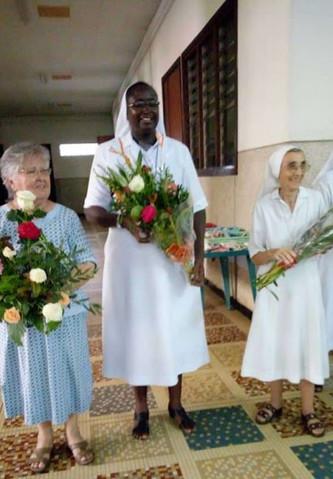 Assemblée de la Province de l'Afrique de l'Ouest à Dakar. Fête des Sœurs Marie Agnès, Marie Rose et Jeanne de Chantal - septembre 2019
