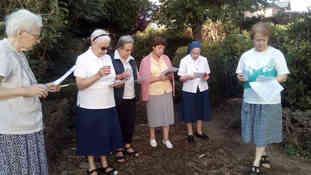 Accueil de nos sœurs à la communauté de Lourdes-Soum - septembre 2019