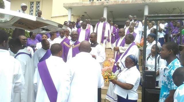 Libreville : Célébration des obsèques de Soeur Emmanuelle  - Février 2019