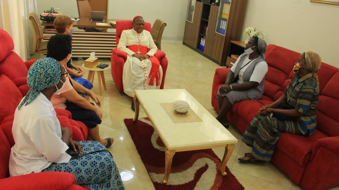 AUDIENCE CARDINAL FRIDOLIN ET CIC EN RDC