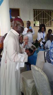 Fête à Libreville des 170 de l'arrivée des Soeurs au Gabon et des jubilés de Profession Religieuse  de nos Soeurs