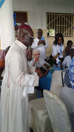 Jubilees of the Sisters and the arrival of the Sisters in Gabon