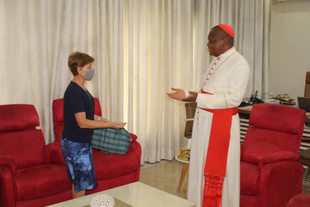 Cardinal Fridolini et Soeur Justi générale