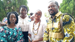 Religious profession of Sour Louise Sossou in Libreville - Gabon