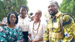 Profession Religieuse de Sour Louise Sossou à Libreville - Gabon