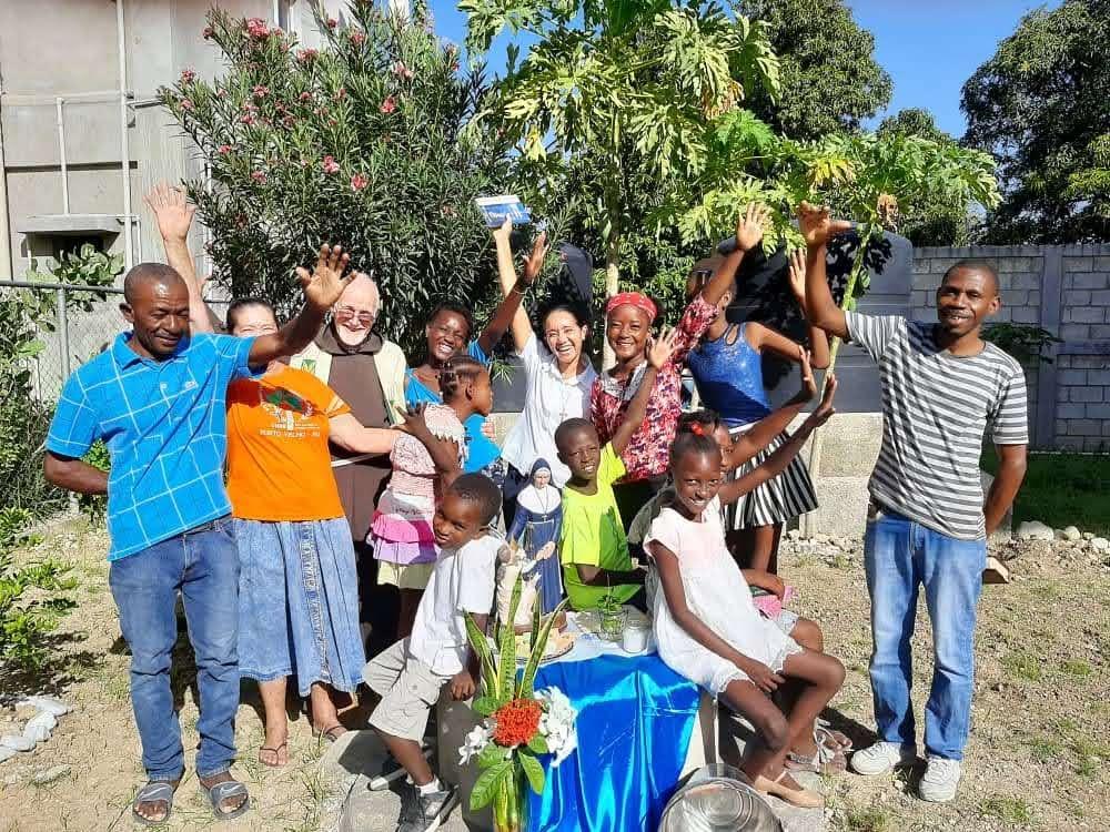 Un Puits pour la population en Haiti