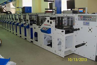 focus label machinery