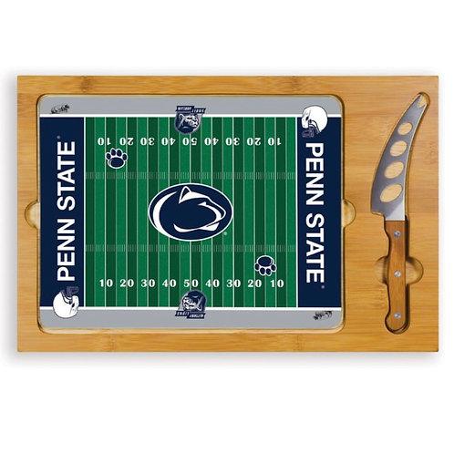 TOSCANA NCAA Penn State Football Icon Cutting Cheese Tray