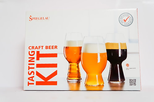 SPIEGELOU TASTING KIT (GLASSES FOR IPA+STOUT+WHEAT)