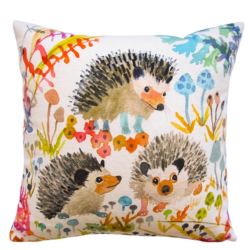 BETSY OLMSTED Hedgehogs Pillow