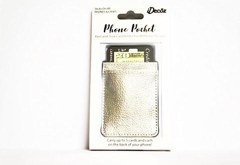 IDECOZ Leather Phone Pocket