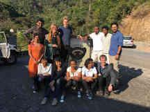 Fieldwork at center ValBio in Madagascar
