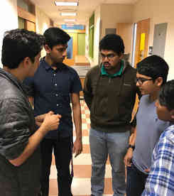 Mentoring highschool iGEM team