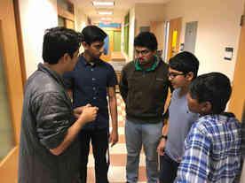 Mentoring highschool iGEM team