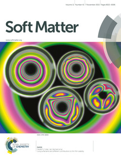 Bhamla_LungSurfactant SoftMatter cover_2015