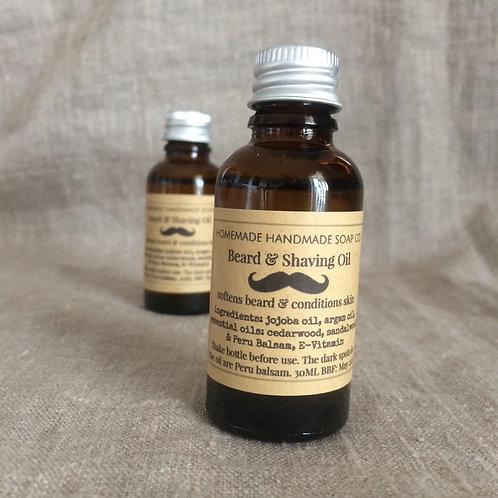 Beard & Shaving oil