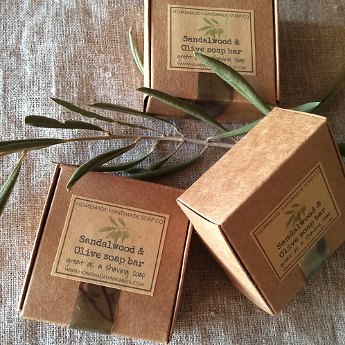 Sandalwood & Olive soap