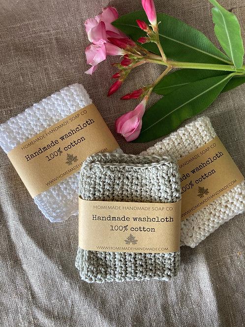 Washcloth 100% cotton