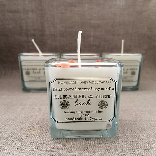 Caramel & Mint candle