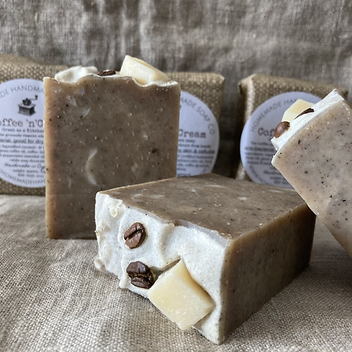 Coffee 'n' Cream soap