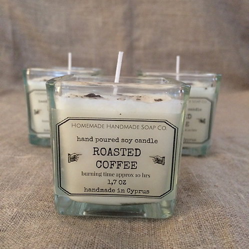 Roasted Coffee candle - glass