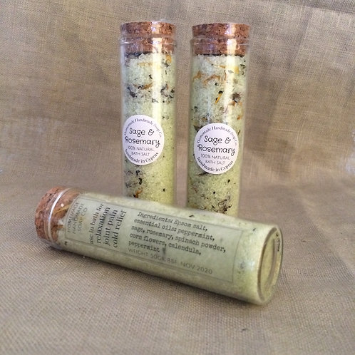 Sage & Rosemary bath salt